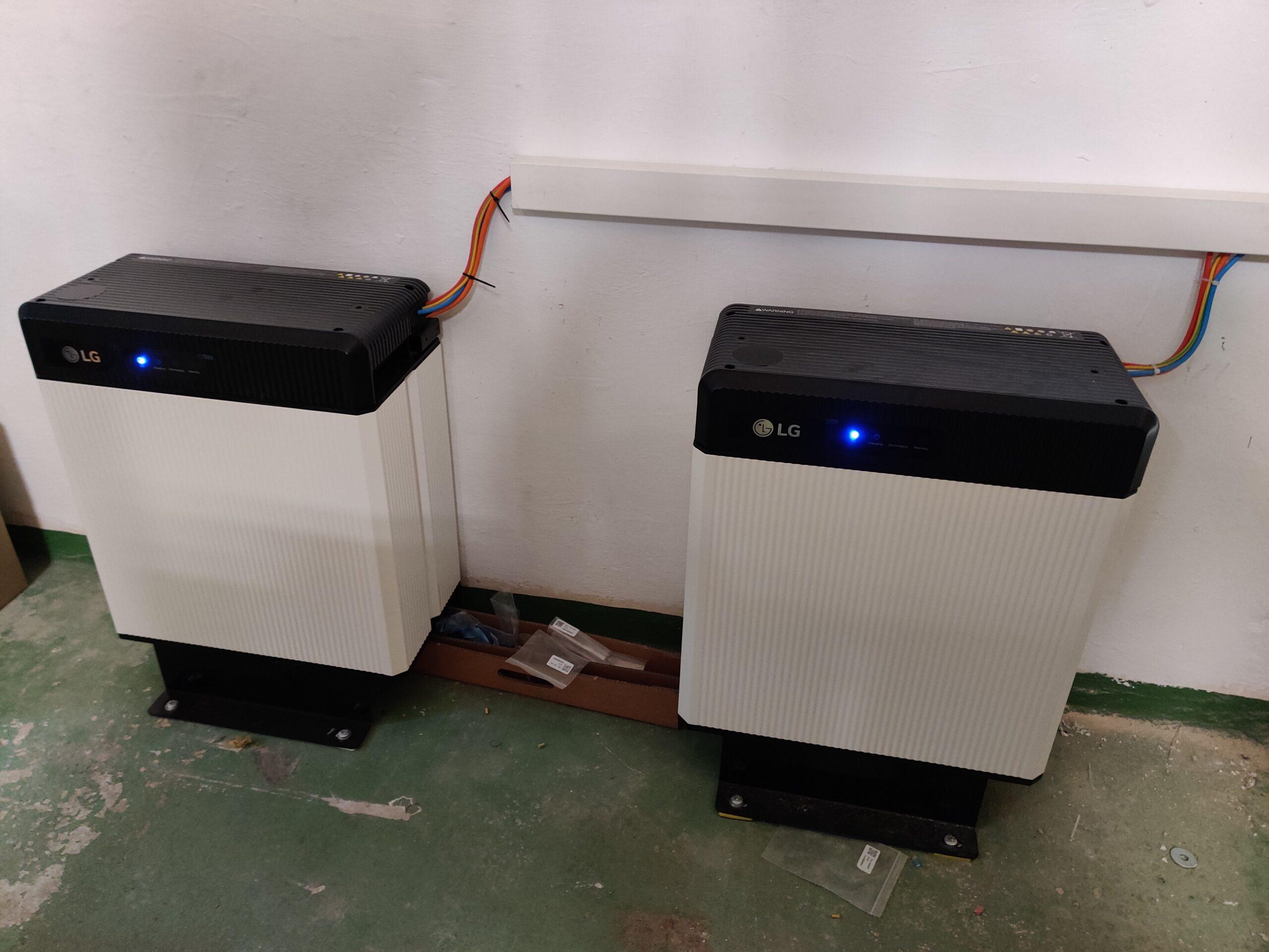 2 x 10 kWh Batteriespeicher