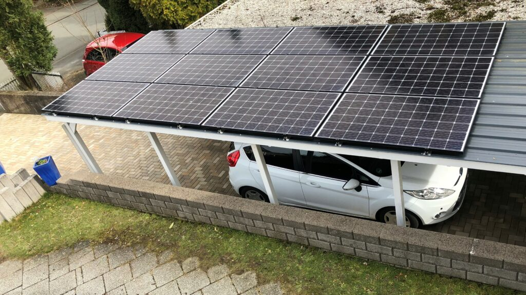 3,6 kWp PV-Carport