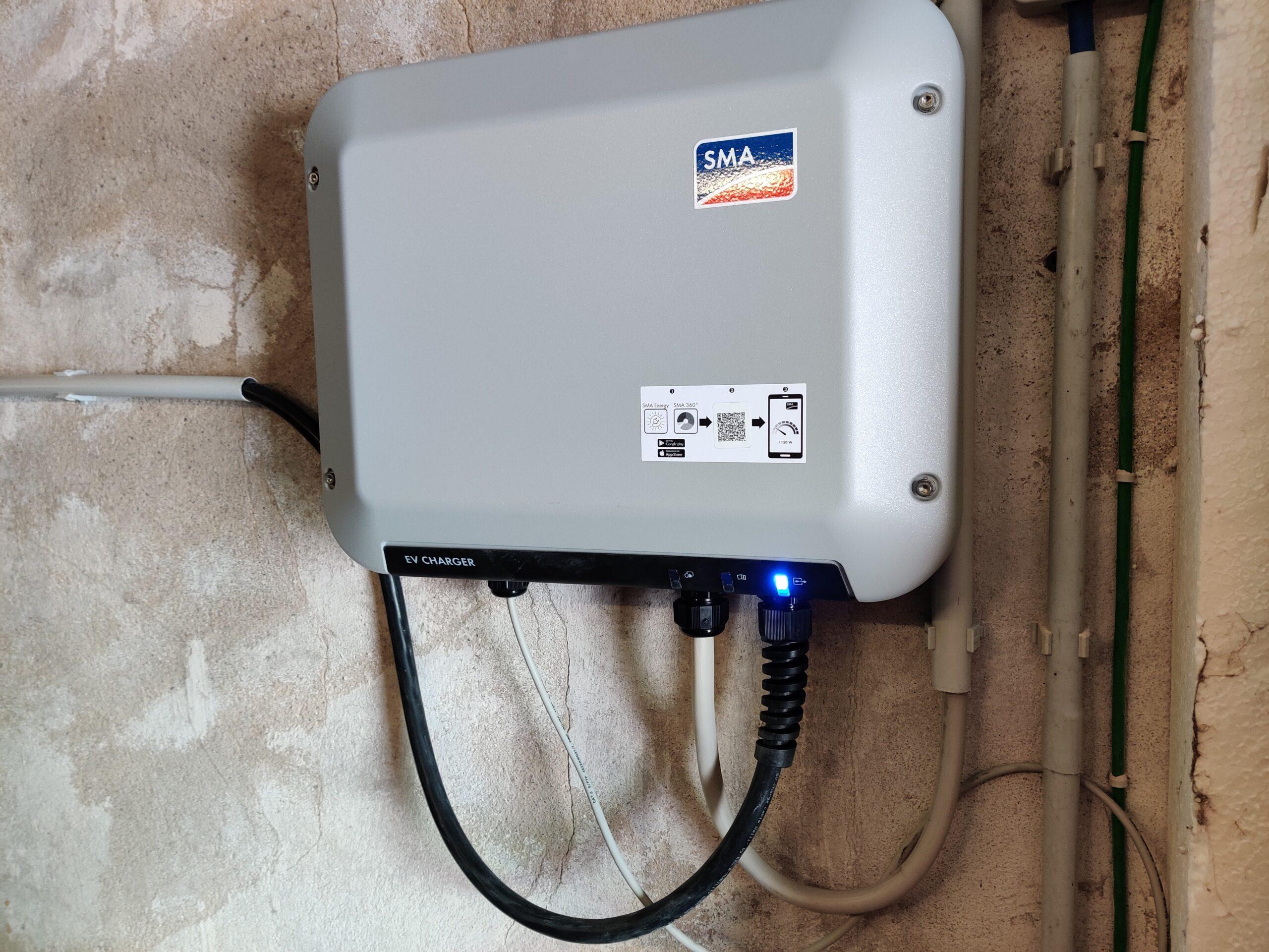 intelligente Wallbox auch zur Nutzung des PV-Überschusses