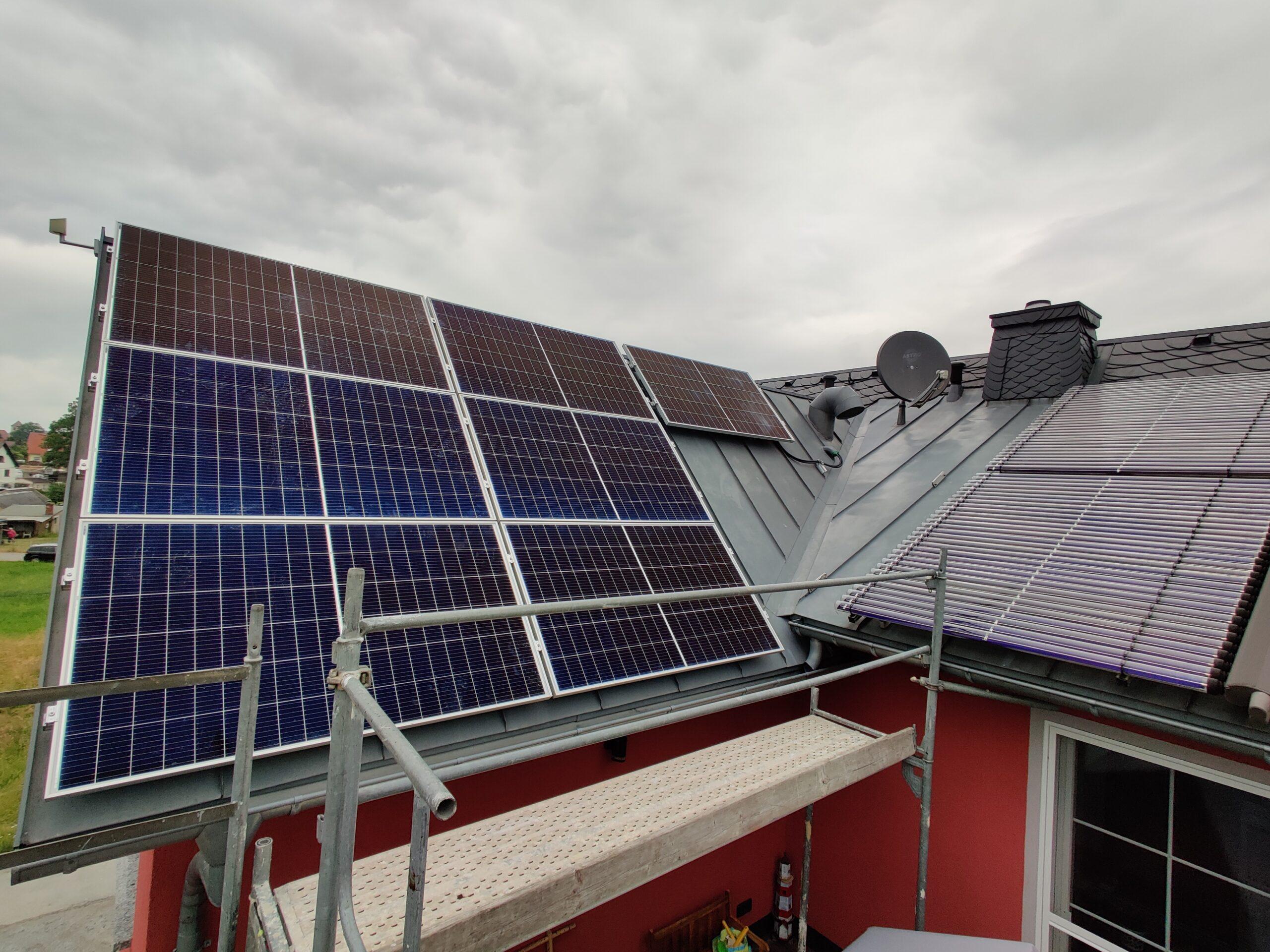 2,38 kWp PV-Anlage