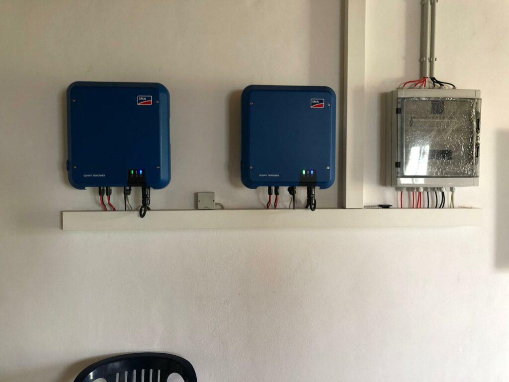 Solarwechselrichter Überspannungsschutz